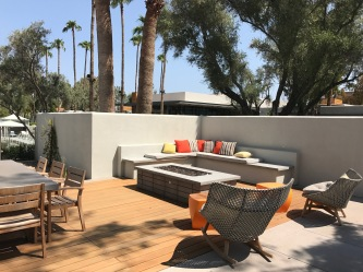 Andaz Scottsdale Presidential Suite Firepit